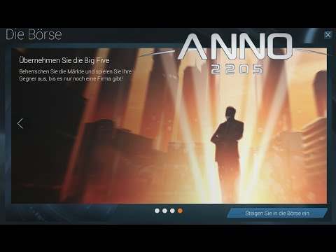 ANNO 2205 NEUES DLC #1 BÖRSE INFOS/ANGEZOCKT