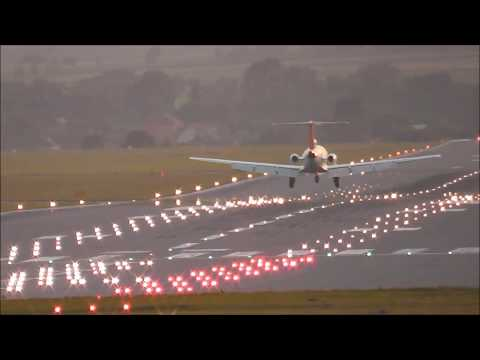 PlaneSpotting at Kraków Airport -July-2013-Atc- Full HD-
