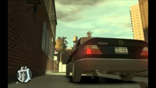 GTA IV Mercedes W124 look around (1080p Full HD)