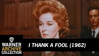 I Thank a Fool (1962) - Official Trailer