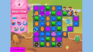 Candy Crush Saga Level 3486 NO BOOSTERS Cookie