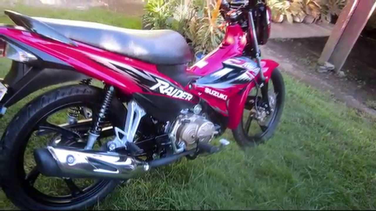 Suzuki Raider j 115 fi Setup Suzuki Raider j 115 fi