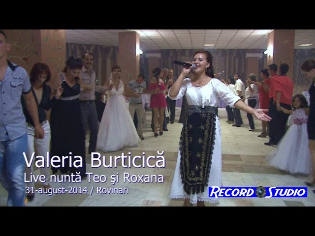 Valeria Burticica LIVE (colaj HORA) part.2 nunta Roxana si Teo 31-08-2014 Rovinari