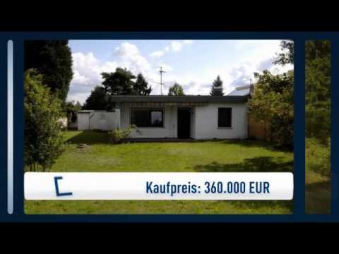 Wohnen Auf Einer Ebene - Bungalow In Rödermark-Waldacker Mit Schönen Grundstück