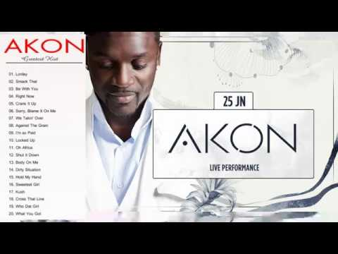 Akon Greatest Hits Full Album--The best songs of Akon Nonstop Playlist
