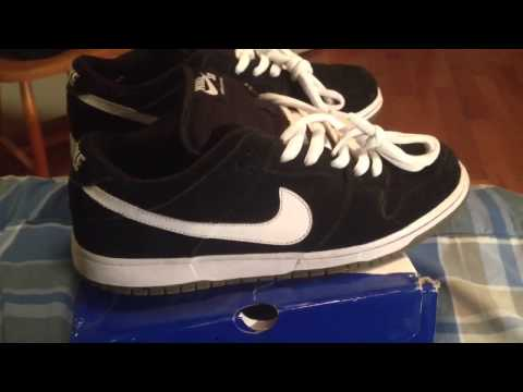 Nike Sb Vid #4 &quot;Black and White&quot; Dunk Low
