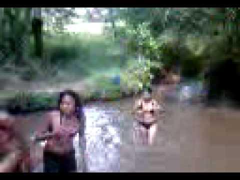 Banho de rio
