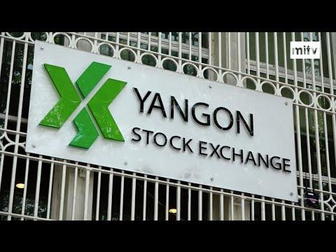 TODAY MYANMAR - Yangon Stock Exchange Up & Running