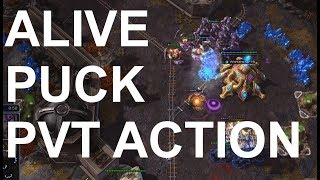 aLive (T) v pucK (P) on Eastwatch - StarCraft 2 - Legacy of the Void 2018