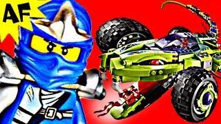 FANGPYRE TRUCK AMBUSH 9445 Lego Ninjago Stop Motion Set Review