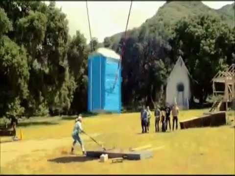 fliegende toilette