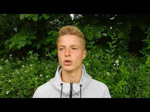 Tennis Rudi Molleker Interview Berlin German Juniors 2016