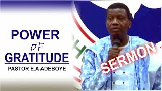 Pastor E.A Adeboye Sermon @ RCCG January 2018 THANKSGIVING SERVICE