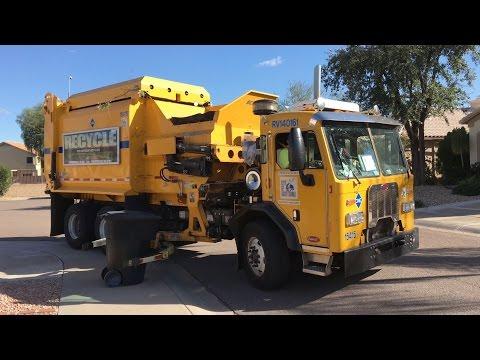 City of Scottsdale ⇨ 2014 DaDee Scorpion ASL Garbage Truck