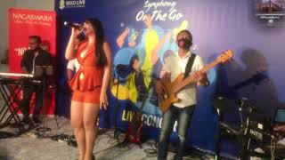 Dianna dee live bigo (single) Warna Warna @ Concert Symphony On The Go