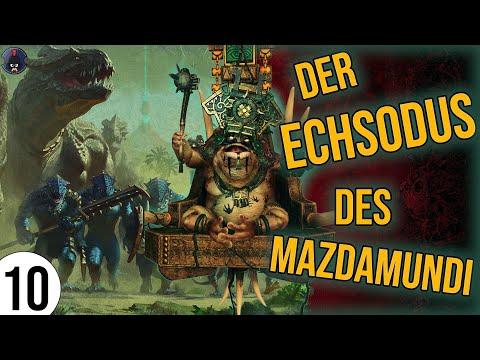 Total War: Warhammer 2 | 10 | Der ECHSODUS des Mazdamundi | Sehr Schwer