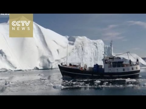 Visitors witness icebergs, climate change in Greenland