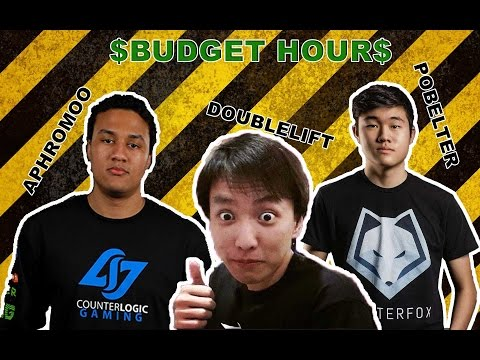 Funny Moments - Aphromo and Doublelift .feat Pobelter (as Budget Hour)