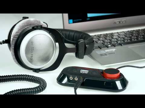 Sound Blaster Omni Surround 5.1 с регулятором громкости, микрофоном и пультом ДУ