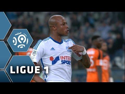 But André AYEW (59') / Olympique de Marseille - FC Lorient (3-5) -  (OM - FCL) / 2014-15