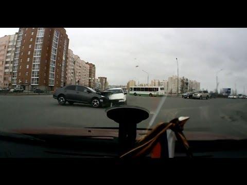 Превышение скорости на перекрестке