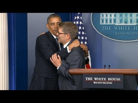 President Obama Accepts Jay Carney's Resignation