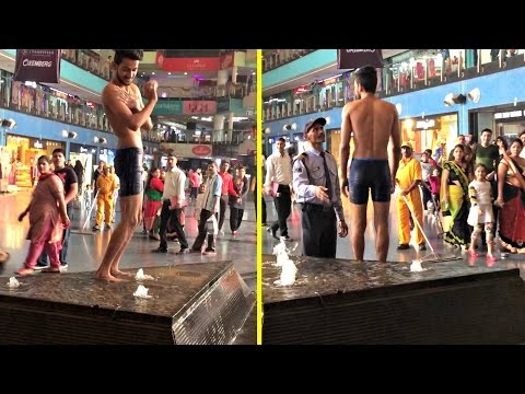 Taking Bath In Mall (Prank Gone Wrong and Arrested) - AVRprankTV | Pranks in India