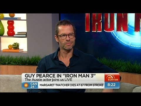 Sunrise - Guy Pearce talks 'Iron Man 3'