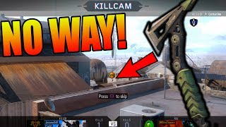 THE LUCKIEST KILL EVER!! BO3 Running With Cizzorz!