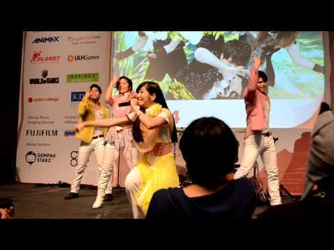 "AKINO & Bless4 - ""Sousei No Aquarion"" Live Performance Comic Fiesta 2012 Kuala Lumpur"