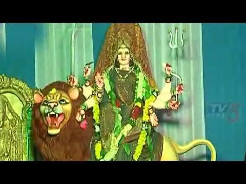 Devi Navaratri Festival Celebrations in Venkatagiri at Jubilee hills : TV5 News