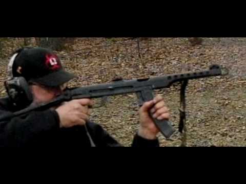 The PPS-43 SMG in slow motion
