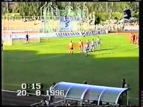 1996 August 20 FC Jazz Finland 1 Dinamo Moscow Russia 3 UEFA Cup