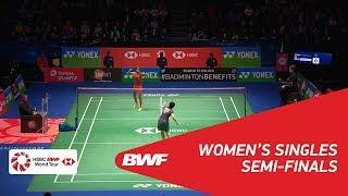 WS   PUSARLA V. Sindhu (IND) [4] vs Akane YAMAGUCHI (JPN) [2]   BWF 2018