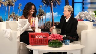 Download Song Michelle Obama Talks with Birthday Girl Ellen About Post-White House Life Free StafaMp3