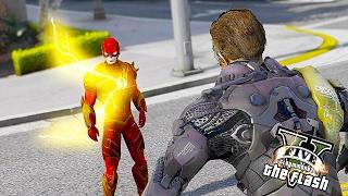 The Legendary Flash VS Green Goblin ! Super Speed vs Technology (GTA 5 Ultimate Flash Mod)