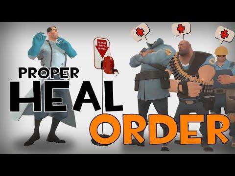 ArraySeven: Proper Heal Order