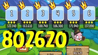 Angry Birds Friends Tournament #1 #2 #3 #4 #5 #6 Week 97 All levels Powers