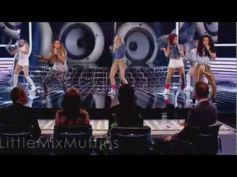 Little Mix - Super Bass (Live Show Performance 1#)