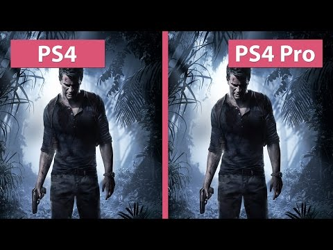 4K UHD | Uncharted 4 – PS4 vs. PS4 Pro 4K Mode Graphics Comparison