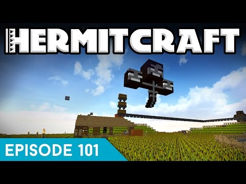 Hermitcraft IV 101 | WITHER PRANK! | A Minecraft Let's Play
