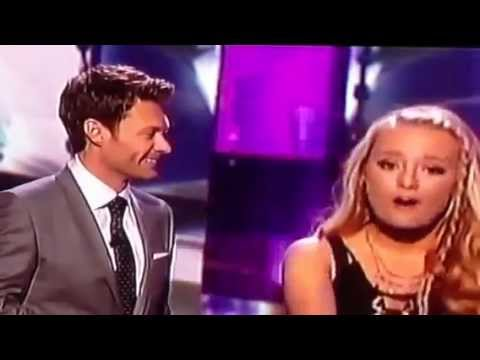 [HD] American Idol 2013 - TOP 5 WOMEN - Janelle Arthur is ELIMINATED -  April 18, 2013
