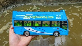 Take bus, race car, excavator ... under water - H428B Toys for kids