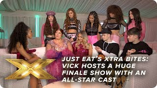Vick Hope hosts a huge finale show with an all-star cast | Just Eat's Xtra Bites