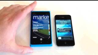 iPhone 4S vs. Nokia Lumia 900 Feature Comparison Review
