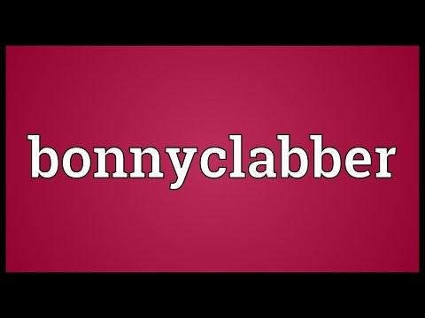 Header of bonnyclabber