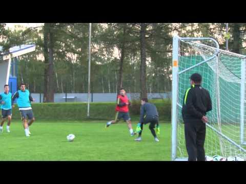 Борцы сборной России посетили тренировку «Анжи»