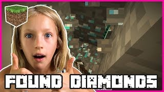 I FOUND DIAMONDS | Minecraft