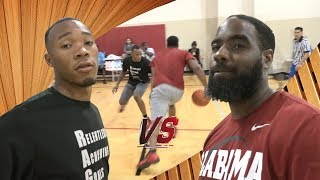 Chrisco --|vs|-- Nick  1v1 basketball: by V1F