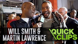Will Smith & Martin Lawrence On Relaunching The Bad Boys Franchise